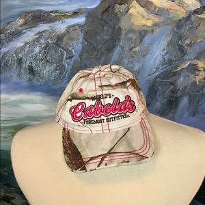 Cabelas pink real tree cap one size
